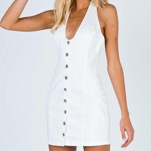 Skylar White Mini Dress